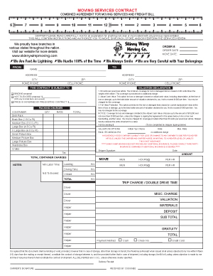 Generic Bill of Lading